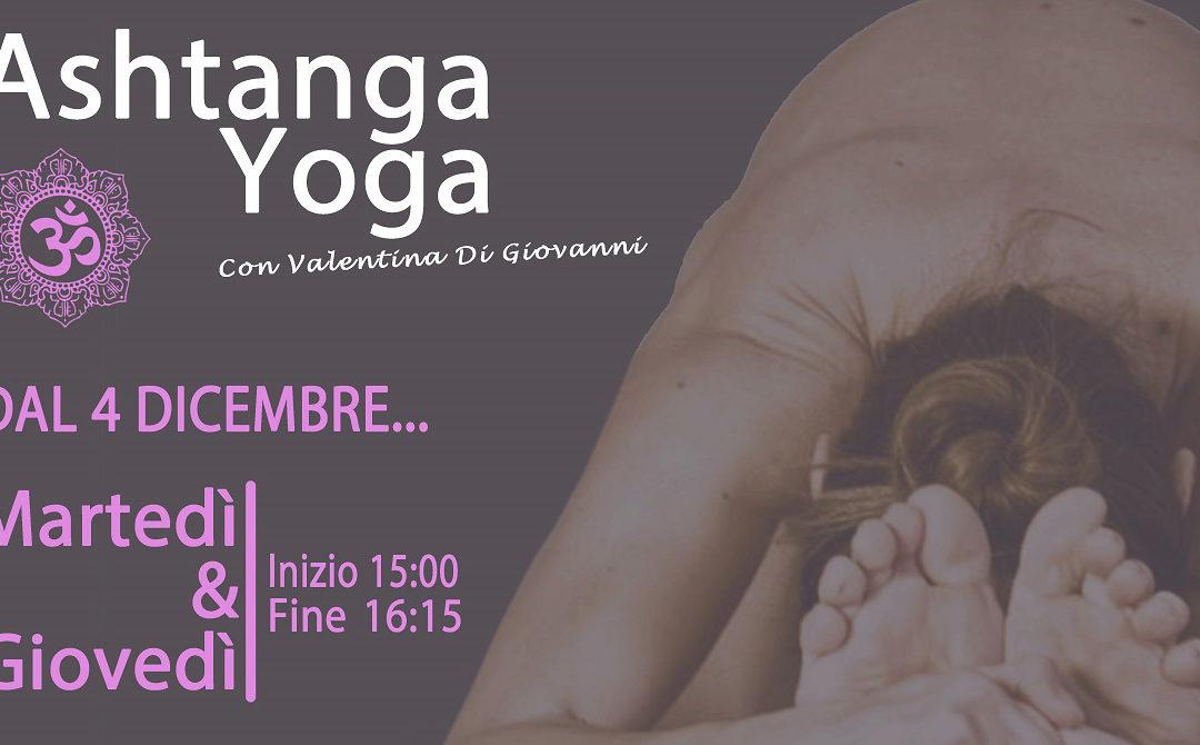 Ashtanga Yoga – da Martedi 04/12