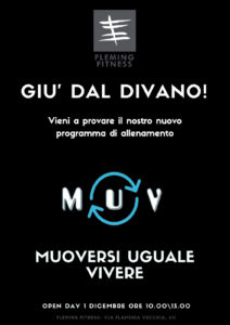 MUV, open day
